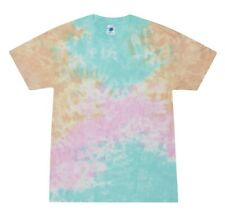 Snow Cone Tie Dye T-Shirts S M L XL 2XL 3XL 4XL 5XL Cotton Colortone