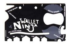 WALLET NINJA MULTI-TOOL 18-IN-1 CARD For Multi Purpose Use (Good for Gift)