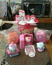 SEVEN HELLO KITTY ITEMS,PICTURE FRAME, SOCKS,ANIMATED PLASTIC KITTY