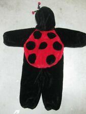 Ladybug halloween costume 2T 3T childs boy girl  toddler bunting winter warm