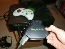 Original OG Xbox MagicBox Magic Box Controller Adapter Saturn Dreamcast PS2 RARE