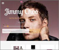 JIMMY CHOO Website Earn £190.25 A SALE|FREE Domain|FREE Hosting|FREE Traffic