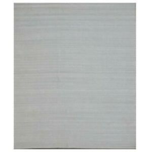 GRAY SOLID CONTEMPORARY 13x15 Authentic Hand Knotted MORDERN WOOL RUG B-79422
