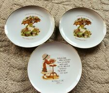 Holly Hobbie Mothers Day Plates Set Of 3 10 Inch