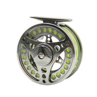 Fly Fishing Reel Combo 3/4 5/6 7/8 9/10WT CNC Machined Fly Reel Fly Line Fly Kit