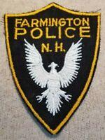 NH Vintage Farmington New Hampshire Police Patch
