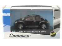 Cararama Hongwell VW Volkswagen Beetle Turbo S 2002 Black 1 72 Scale Boxed