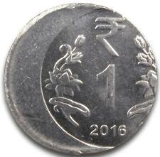 Error Coin! 2016 India 1 Rupee Coin Struck Off Center Major Error Uncirculated