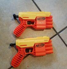 Lot of 2 Nerf Alpha Strike Fang QS-4 Dart Gun Blasters