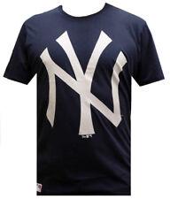 New Era MLB OG New York Yankees Camiseta Logo Azul Marino FAN m, L,XL,XXL T
