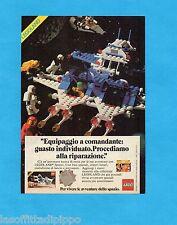 TOP983-PUBBLICITA'/ADVERTISING-1983- LEGO - ASTRONAVE