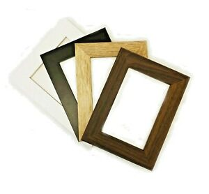 Photo Picture Frames Poster Frame Black Walnut White Oak Wood Glass A3 A4 A5