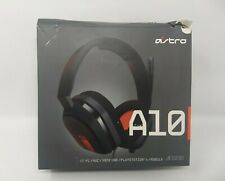 Astro Gaming A10 Gaming Headset - Black/Red (No Aux Cord Included)