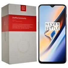 New Oneplus 6T Dual-SIM A6013 256GB/8GB RAM Midnight Black Factory Unlocked GSM