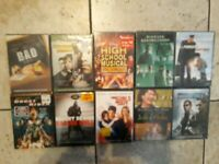 DVD Lot of 10 New & Sealed Assorted Movies [Wholesale, Resale, Collect] (Lot#2)