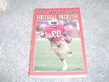 1988 NFL Football Register Media Guide San Francisco 49ers Jerry Rice Cover
