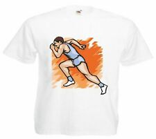 Motiv Fun T-Shirt Joggen Jogger Laufen Sprint Mega Sports Hobby Motiv Nr. 4612
