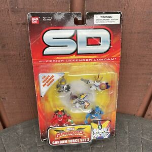 Superior Defender Gundam SD Gundam Force Mini Defender Set 2
