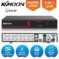 KKMoon 4/8/16CH 1080N AHD 51n1 DVR CCTV Video Recorder For Security System O9E6