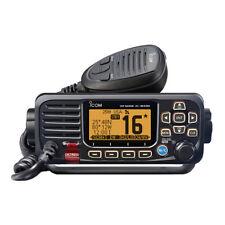 ICOM M330 VHF Marine Boat Radio With GPS Fixed Mount- Black
