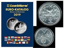 Euro-Münzkatalog 2019 + Portugal 8 EURO 2004 21g 500er Silber UNC. im Set