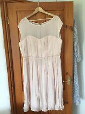 Beautiful Boden Blush Pink Dress Size 18L Wedding Party Bridesmaid Nwt
