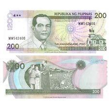 Philippines 200 Piso 2010  P-195c  Banknotes  UNC