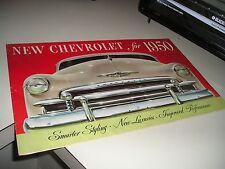 1950 ORIGINAL CHEVROLET BROCHURE/MANUAL