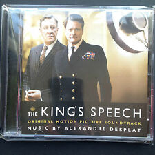 Alexandre Desplat THE KING'S SPEECH Bafta-winning soundtrack CD 2010 Colin Firth