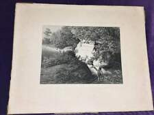 etching by Conrad Wiessner of a man at a spring with goats [1853] frontispiece?