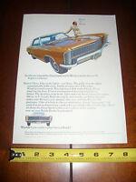 1965 BUICK RIVIERA - ORIGINAL AD