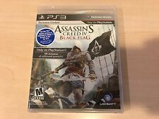 Assassin's Creed IV: Black Flag for PS3 Playstation 3 NEW, SEALED, FREE SHIPPING