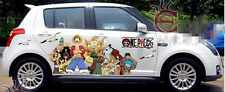 Set Manga Anime ONE PIECE Luffy Car Graphics Decal Vinyl Sticker Full Color