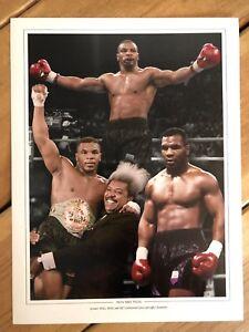 Iron Mike Tyson 16x12 Boxing Photo / Photograph / Still. Heavyweight Champion.