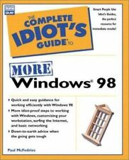 Complete Idiot's Guide to More Win 98 (The Complete Idiot's Guide)-ExLibrary