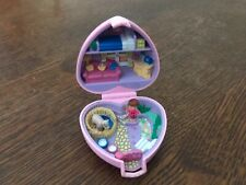 Polly pocket bluebird vintage 1993 coeur rose