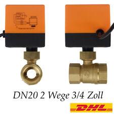 2 Wege Motorkugelhahn 3/4 Zoll Zonenventil DN20 Elektrische Kugelventil 230V DHL