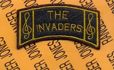US Army Europe SHAEF USAEUR THE INVADERS Band tab arc patch