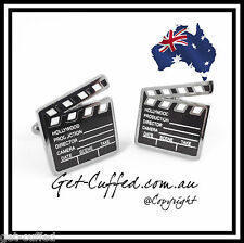 NEW Novelty Hollywood Clapperboard Cufflinks Unique Cufflinks Men Shirts Wedding
