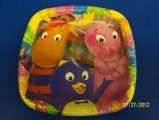 "The Backyardigans Nick Jr.TV Kids Birthday Party Divided 7"" Paper Dessert Plates"