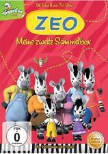 4 DVDs *  ZEO - MEINE ZWEITE SAMMEL BOX - TEIL 5 - 8  # NEU OVP WVG