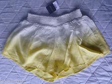 BNWT TOPSHOP Dip-Dye Shorts - Lime - Lemon - Size Small - UK 8 - 10 - RRP £24
