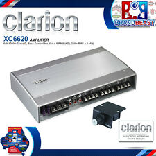 Clarion XC6620 1000W 6-Channel Boat Audio Amplifier
