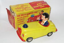 vintage Clifford series Billy bumper car rare plastic BO toy boxed