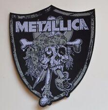 METALLICA - Raiders Skull - Patch - 10 cm x 11,5 cm - 164433