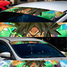 "60"" Broly SSJ Super Saiyan God Ultra Sun Strip Car Windshield Vinyl Banner Decal"