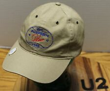 BLUEPRINTS PLUS BOISE IDAHO TAN ADJUSTABLE HAT WITH GOLF BALL MARKER VGC   U2