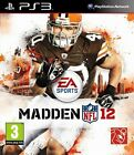 Madden NFL 12 2012 Sony PlayStation 3 PS3 Brand New