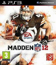 Madden NFL 12 2012 Sony PlayStation 3 PS3 Brand New SEALED