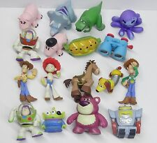 "lot of 10 Disney Toy Story Alien Cowgirl Buzz WOODY pvc figures by Random 2""-3"""